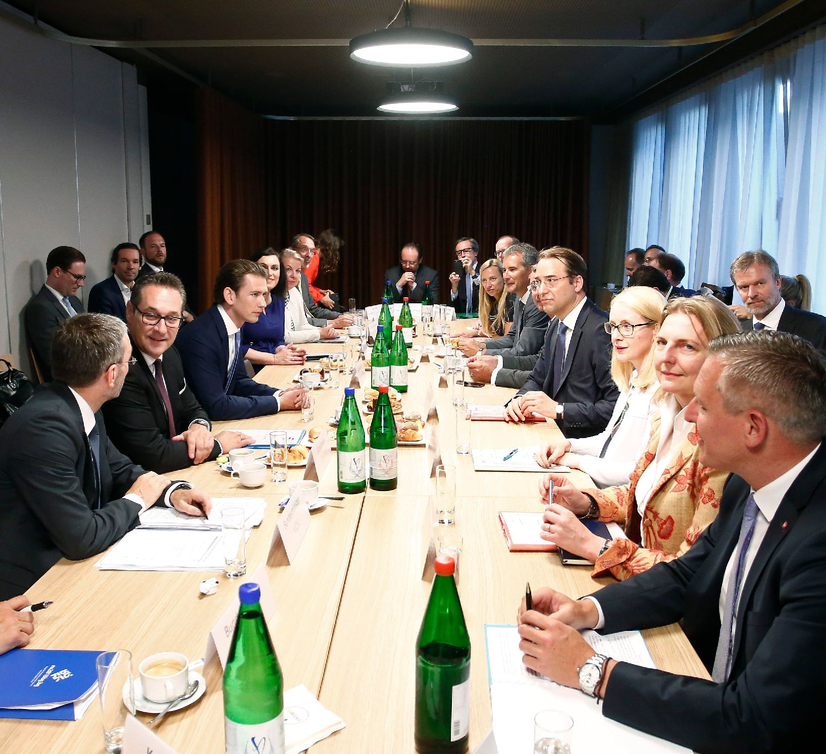 Meeting of the Austrian Council of Ministers in Brussels