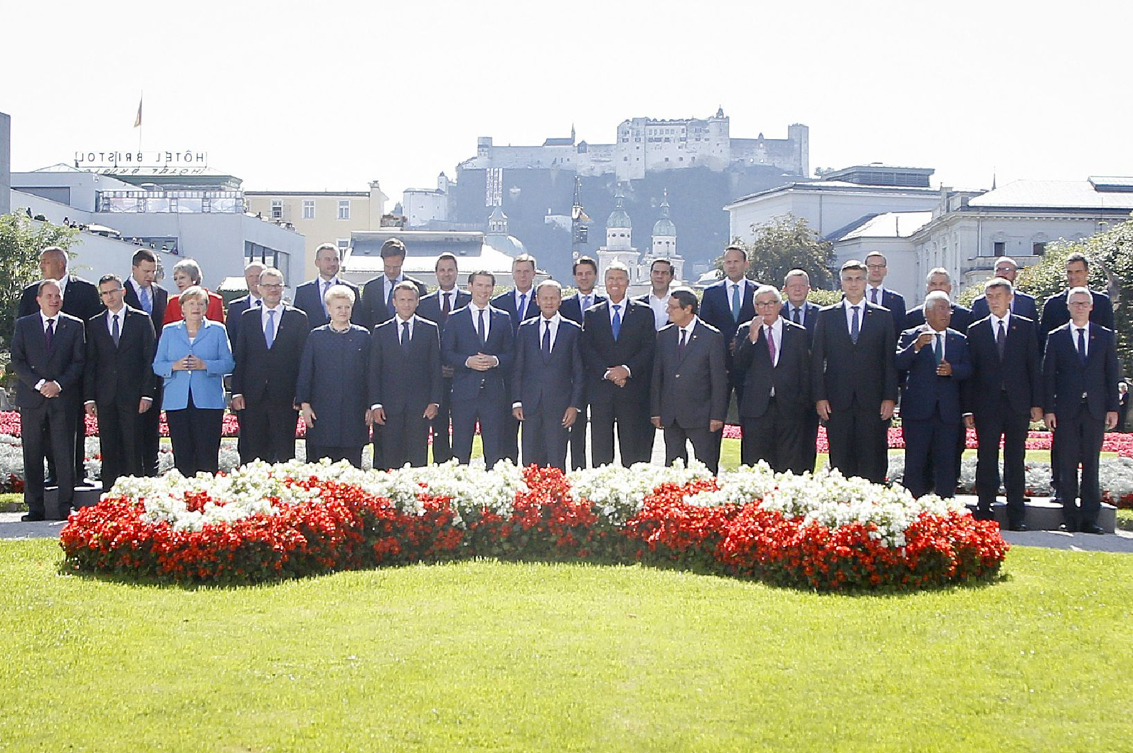 Informal Summit of Heads of State or Government, Salzburg 2018 – Family photo