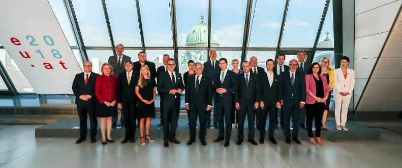 Meeting of the Conference of Presidents of the European Parliament with the Austrian Federal Government