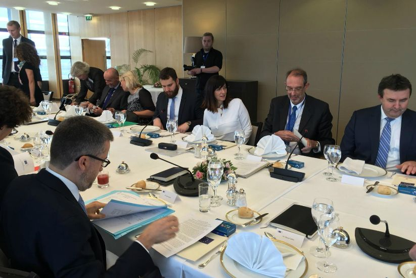 Informal Lunch of EU Research Ministers and Commissioner Carlos Moedas on 15 October 2018