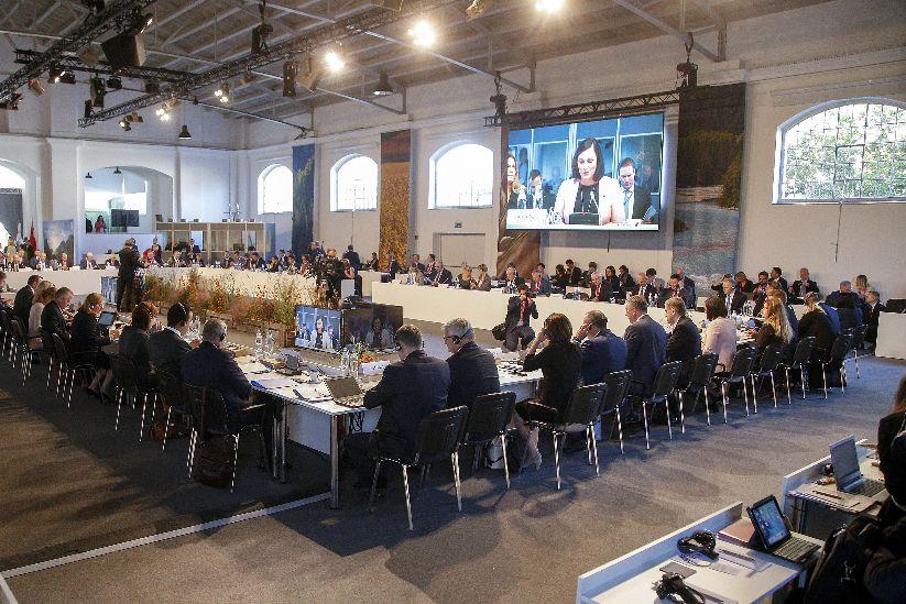 Federal Minister Elisabeth Köstinger Strengthen The Origin Of Food