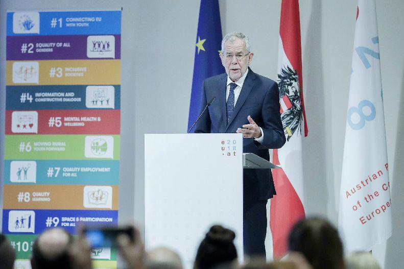 Speech Of Federal President Alexander Van Der Bellen At The